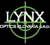 lynx optics slovakia logo white